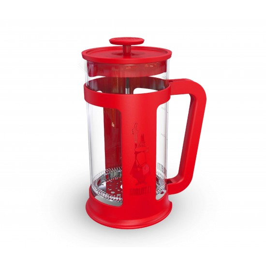 Cafeteira French Press Smart - 1L Vermelha - Bialetti