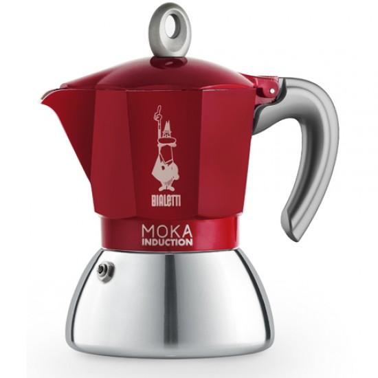 Moka Induction Vermelha Escuro - 2 Xícaras – Bialetti
