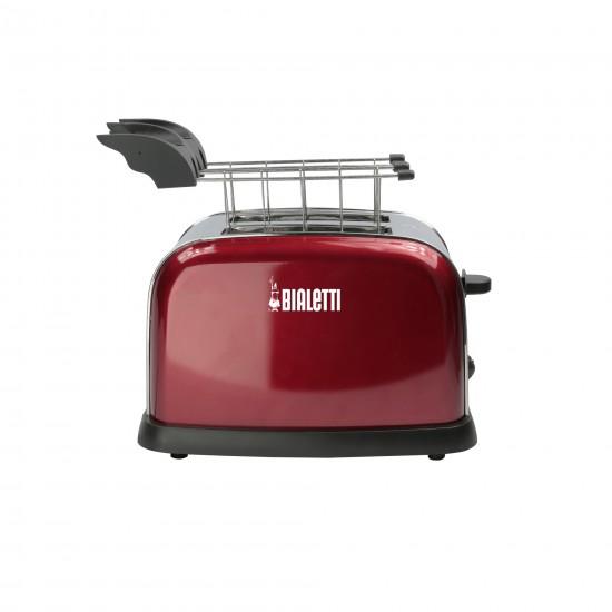 Toaster Electricity Vermelho - Bialetti
